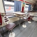 Фирменный поезд «Волгоград» вагон-ресторан
