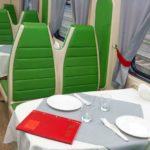 Фирменный поезд «Воронеж» вагон-ресторан