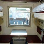 Фирменный поезд «Юность»: боковые места