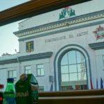 Фирменный поезд «Юность» на станции Комсомольск на Амуре