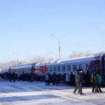 Фирменный поезд «Юность»: состав поезда