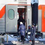 Фирменный поезд «Юность»: вагон