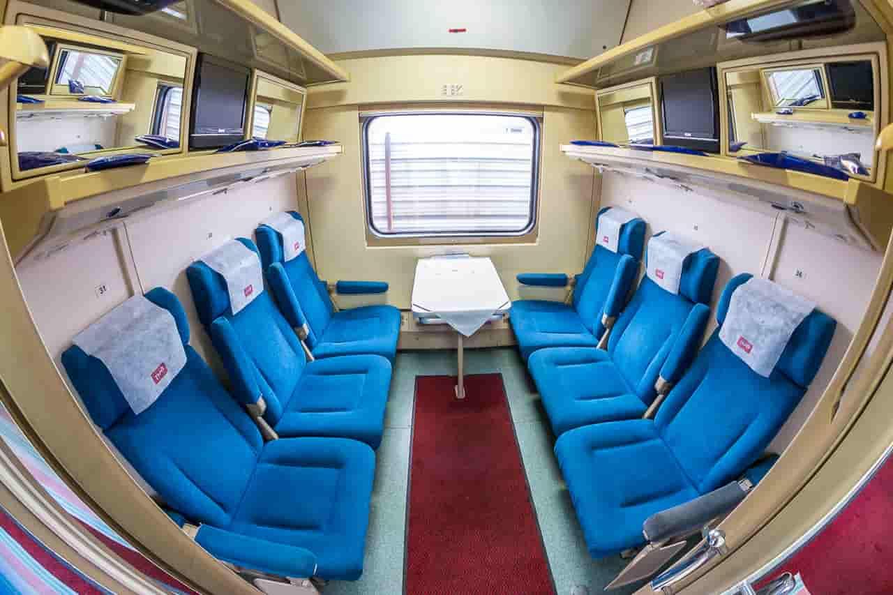 Фото поезда Невский экспресс внутри