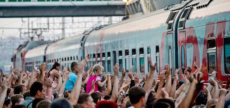 Групповые перевозки пассажиров на жд