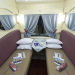 Интерьер купе СВ фирменного поезда «Томич»
