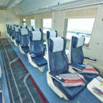 Интерьер сидячего вагона (1 класс) «Дневной экспресс»