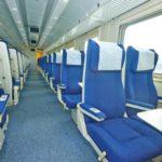 Интерьер сидячего вагона (2 класс) «Дневной экспресс»