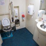 Интерьер туалета для людей с ограниченными возможностями «Смена – А. Бетанкур»