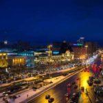 Казанский железнодорожный вокзал фото ночью