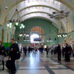 Казанский железнодорожный вокзал зал