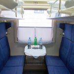 Комфортные сидения фирменного поезда «Сыктывкар»