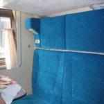 Комфортные сидения фирменного поезда «Тюмень»