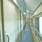 Коридор купейного вагона «Северная Пальмира» (двухэтажный)