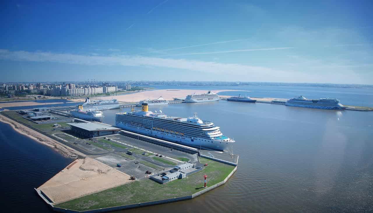 Круизный порт Санкт-Петербург