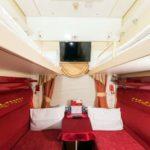 Купе вагона «Эконом» фирменного поезда «Гранд Экспресс»