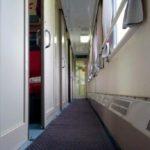 Купейный вагон фирменного поезда «Тюмень»