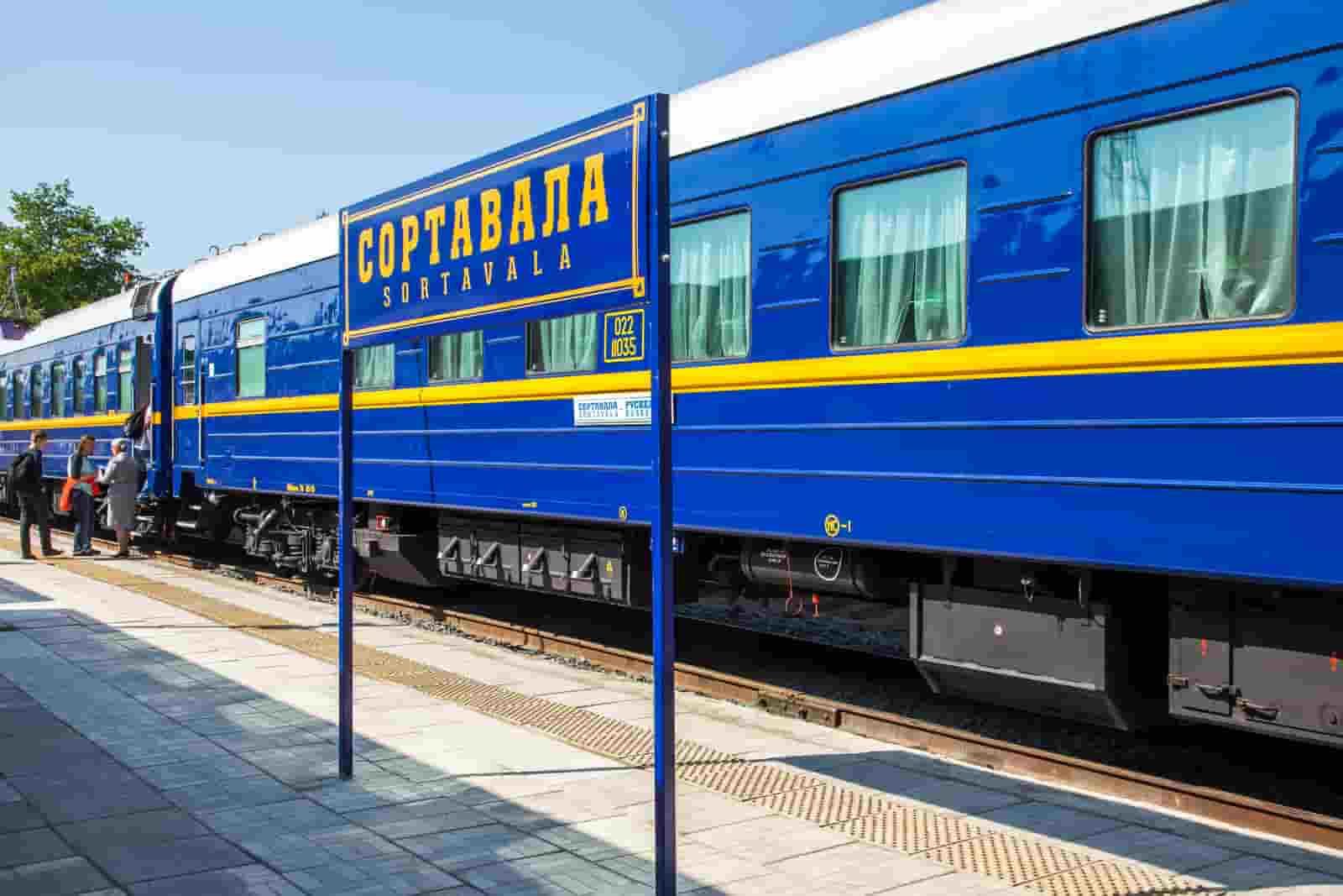Москва-Сортавала