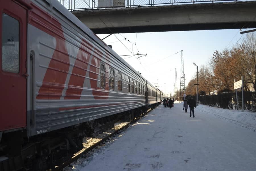 Новый поезд Сибирь-Казахстан