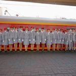 Обслуживающая бригада «Красная стрела»