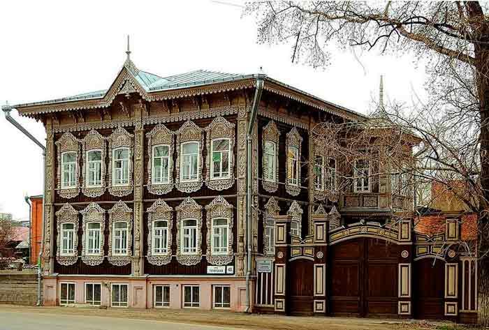 Памятники деревянного зодчества в Томске