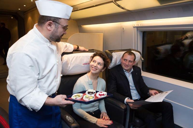 Питание в поезде РЖД