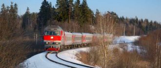 Поезд из Москвы в Карелию