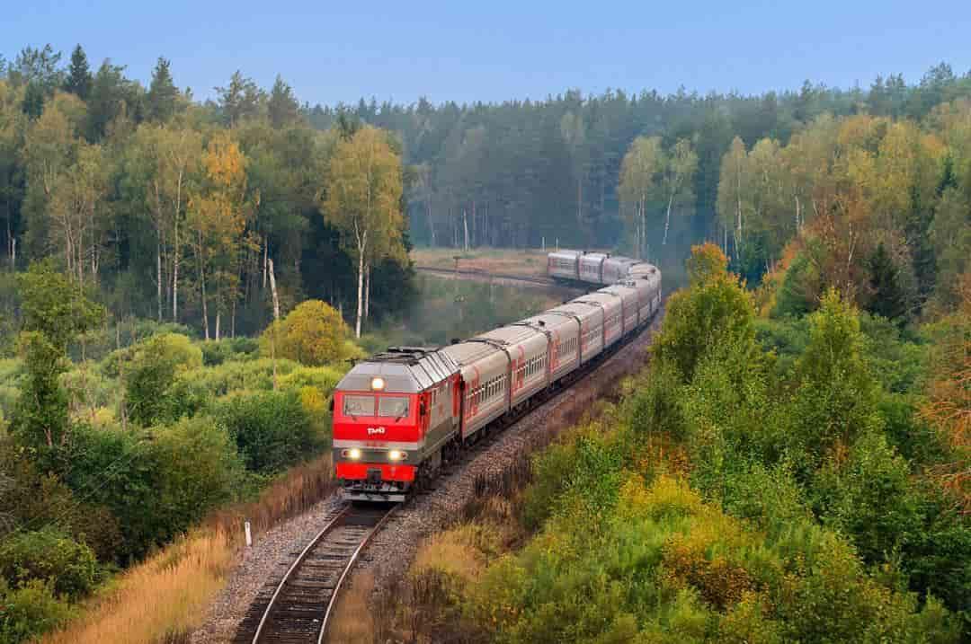 Поезд из Санкт-Петербурга в Карелию