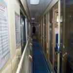 Поезд «Невский экспресс»: коридор