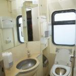 Поезд «Невский экспресс»: туалет