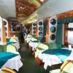 Поезд «Невский экспресс»: вагон ресторан
