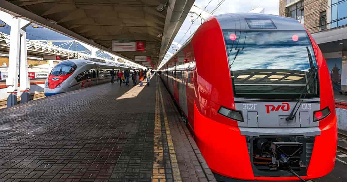Поезд РЖД в Хельсинки
