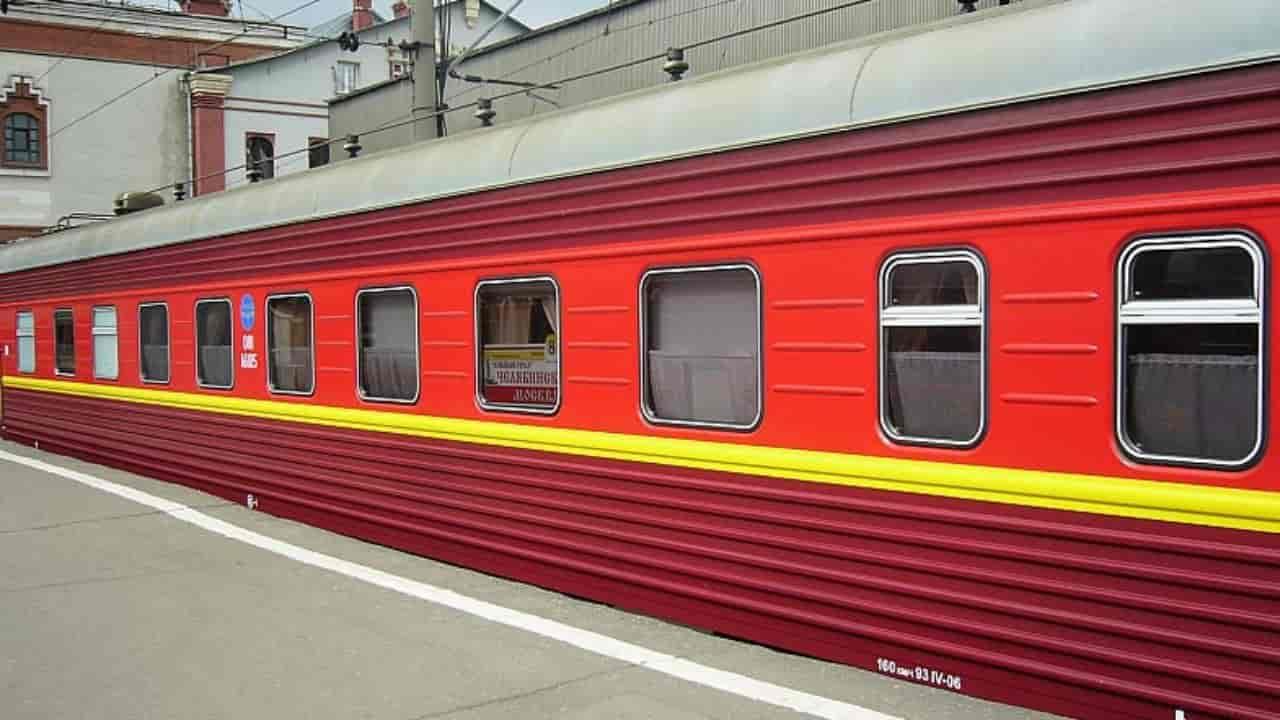 Поезд Южный Урал