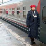 Проводник фирменного поезда «Сура»