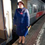 Проводник фирменного поезда «Тюмень»