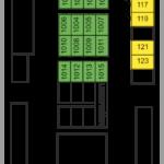 Схема палубы 2