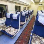 Сидячие места в поезде