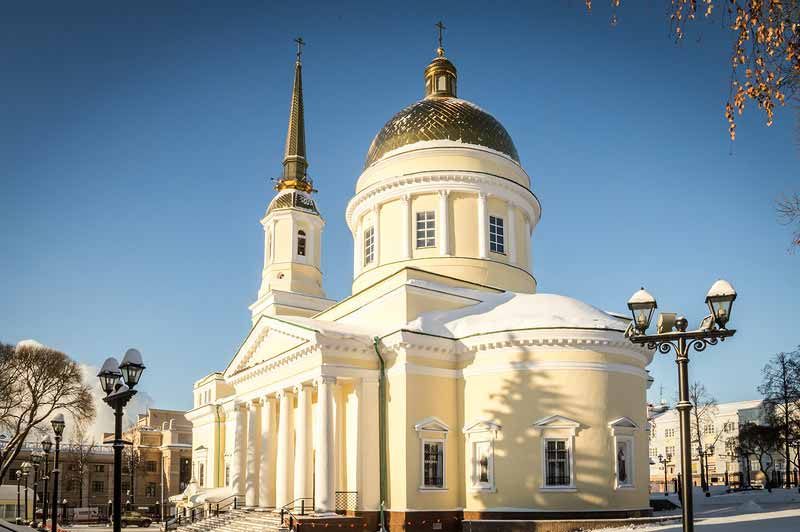 Собор Александра Невского в Ижевске
