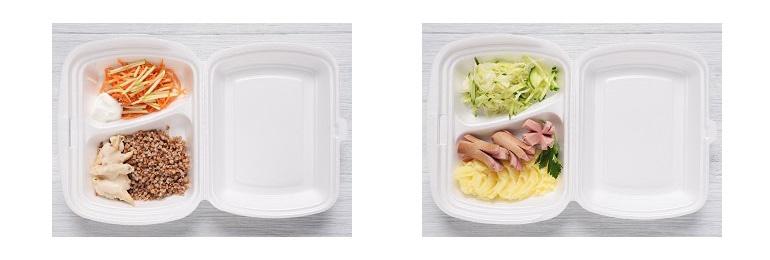 Стандартный ужин в купе