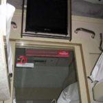 Телевизор в купе фирменного поезда «Тюмень»