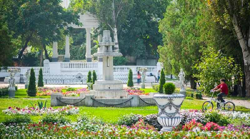 Центральный парк в Ростове-на-Дону