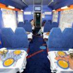 Вагон-ресторан фирменного поезда «Баргузин»