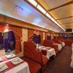 Вагон-ресторан фирменного поезда «Гранд Экспресс»