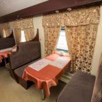 Вагон-ресторан фирменного поезда «Сура»