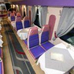 Вагон ресторан фирменного поезда «Тамбов»