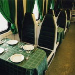 Вагон-ресторан фирменного поезда «Волга»