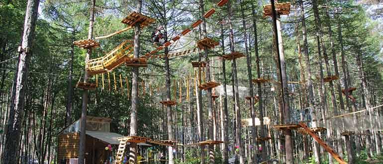 Веревочный парк развлечений «Гамми»
