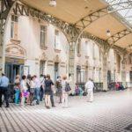 Витебский железнодорожный вокзал зал ожидания