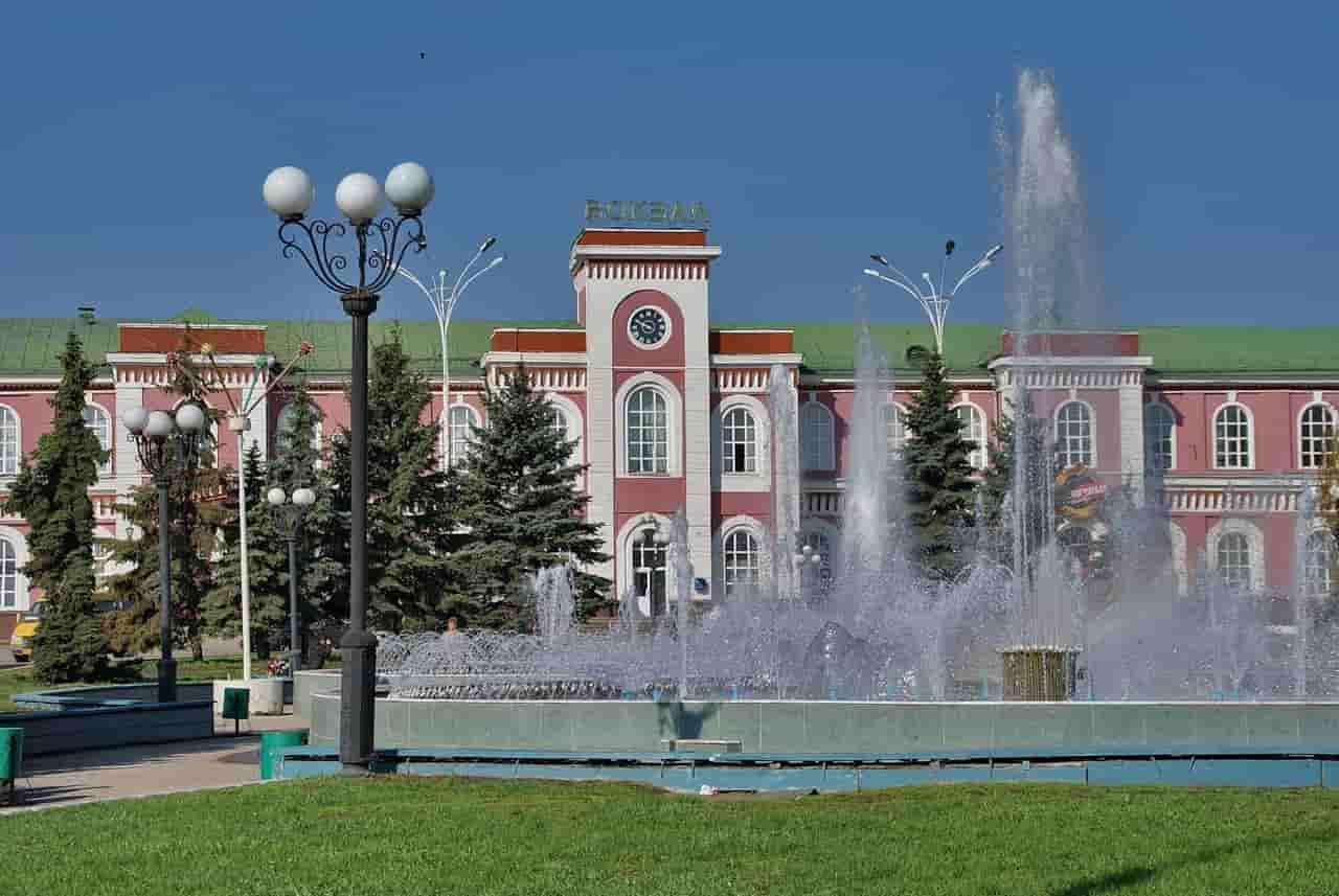 ЖД вокзал в Тамбове