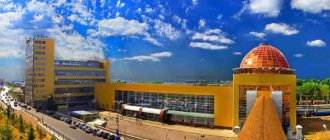 ЖД вокзал в Уфе и его реконструкция